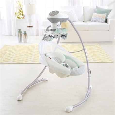 baby cradle n swing moonlight meadow deluxe cradle n swing