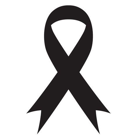 cancer awareness ribbon stencil for glitter quartermarks