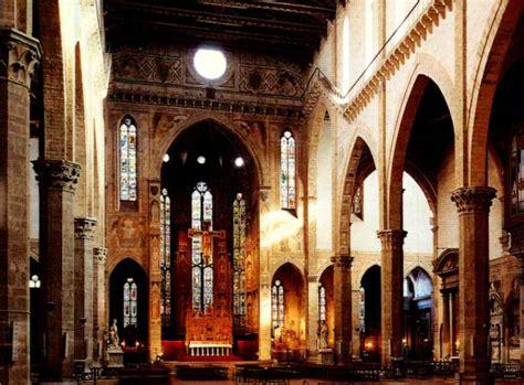 santa croce interno bramarte viaggio nella storia dell arte gotico