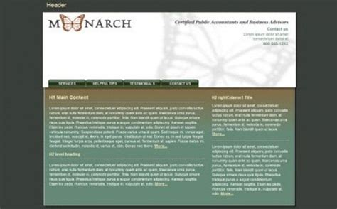 free php templates for dreamweaver 20 best free dreamweaver templates from 2013