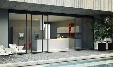 modular italian kitchen  streamlined design
