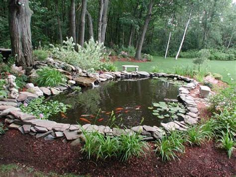 Backyard Pond Ideas 21 Garden Design Ideas Small Ponds Turning Your Backyard Landscaping Into Tranquil Retreats