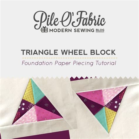 1000 ideas about foundation paper piecing on