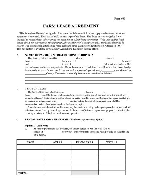 best photos of agricultural land lease agreement farm