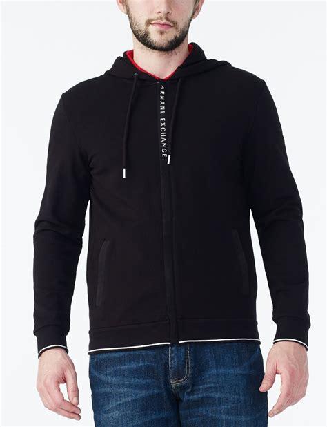 Sweater Pria Fleece Jaket Zipper Hoodie Distro Infcl Eklusif armani exchange grosgrain hoodie jacket fleece jacket for a x store