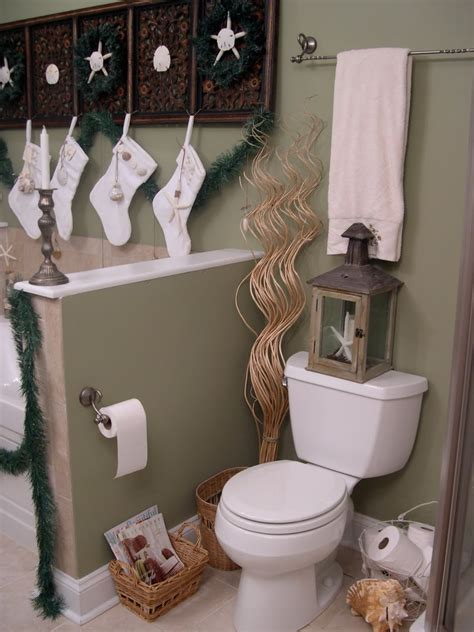 bathroom decorating ideas for christmas room decorating