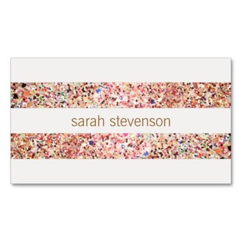 Sparkle Business Card Templates by 41 Best Glitter Business Cards Images On