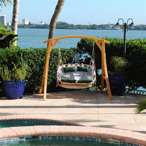 balcony swings double patio swing patio design ideas