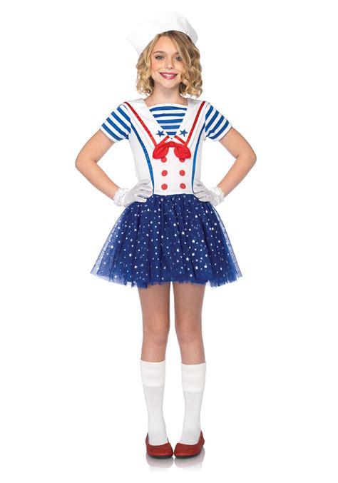 revealing little girl halloween costumes child sailor sweetie costume