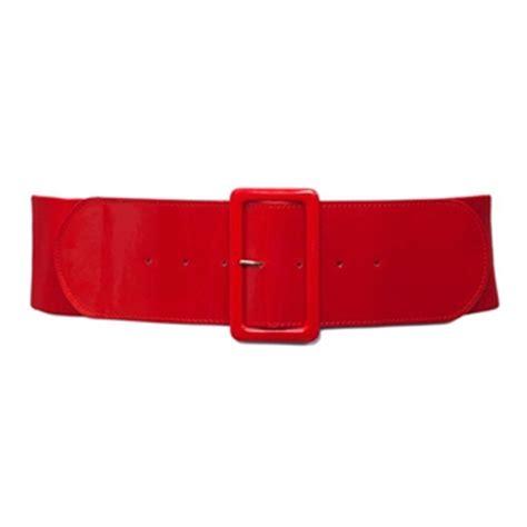 plus size wide patent leather fashion belt evogues