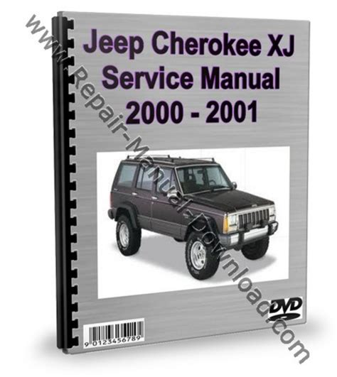 old car repair manuals 2000 jeep grand cherokee security system jeep cherokee xj 2000 2001 service repair manual download downl
