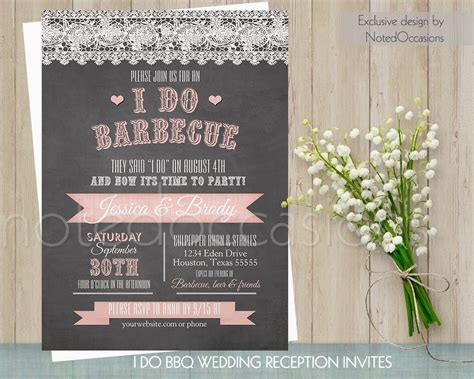 barbecue wedding reception invitations i do bbq wedding invitation printable wedding invitations wood