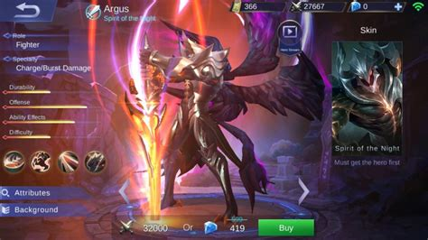 wallpaper mobile legend argus heropedia mobile legends argus malaikat jatuh yang haus