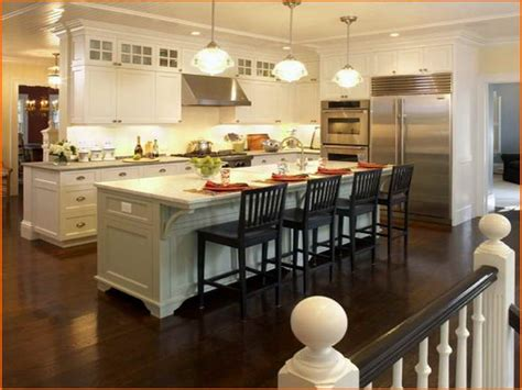 Kitchen Great And Comfortable Kitchen Designs With Kitchen Island Design Ideas With Seating