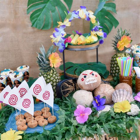 Thanksgiving Decorations For The Home by Disney Moana Party Every Child Will Love Make Life Lovely