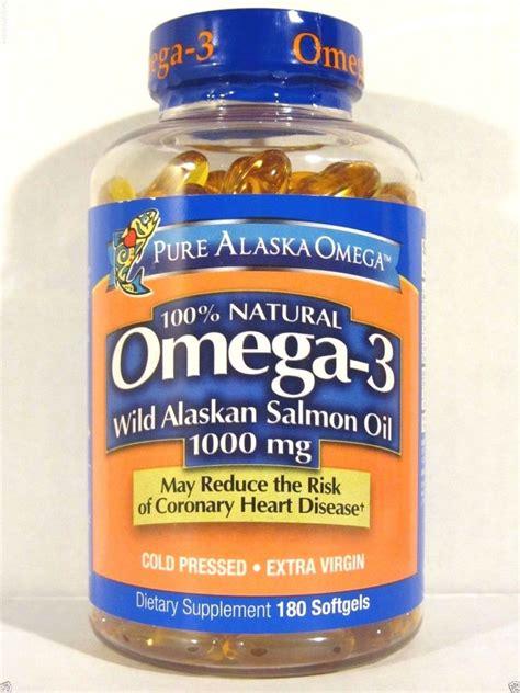 Alaska Sea Fish Omega 3 alaska omega 3 alaskan salmon 1000mg 180