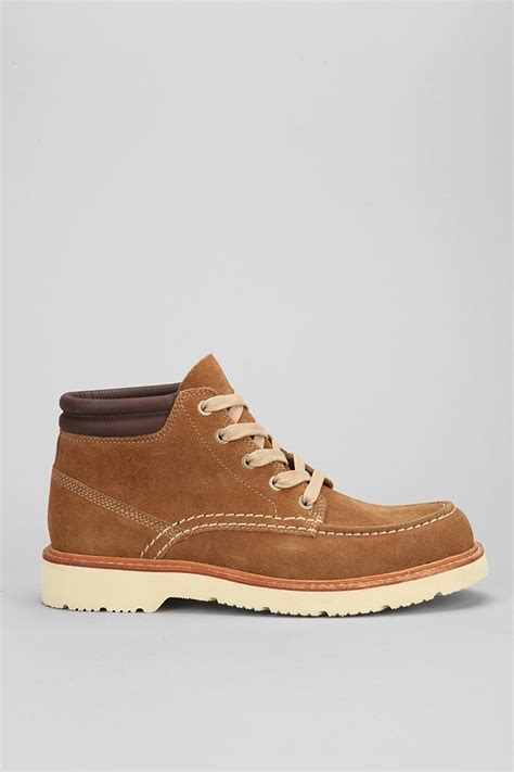timberland abington chukka boot in brown for lyst
