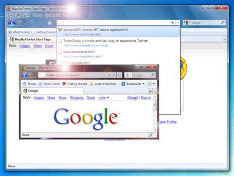 using themes with firefox make your firefox browser like windows 7 style web cool tips