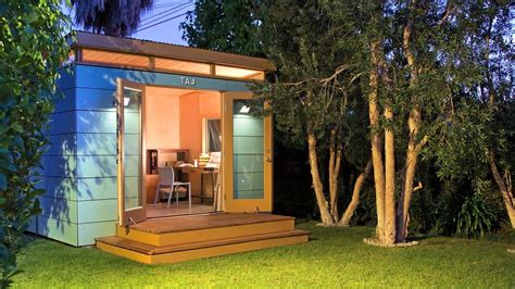backyard art studio modern shed taj the 10x12 backyard art studio on vimeo