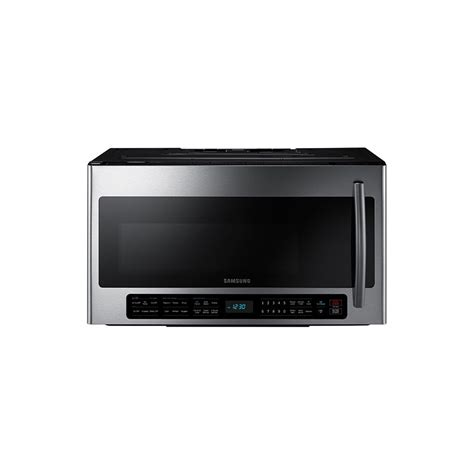 30 inch microwave base me21h706mqs 2 1 cu ft over the range microwave