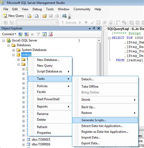 windows mysqldump equivalent for sql server stack overflow