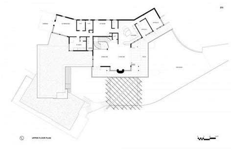 modern hillside house plans floor design small traintoball family residence surrounded by scenic landscapes in