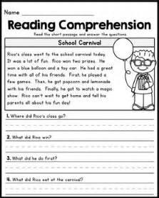 3rd grade reading comprehension worksheets pdf best 25 2nd grade reading comprehension ideas on reading comprehension grade 2