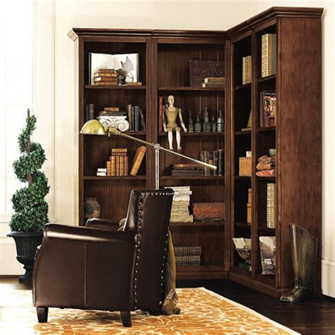 tuscan corner bookcase set 4 transitional