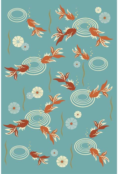koi pond rug koi pond contemporary floral asian area rugs collection gardner design contemporary