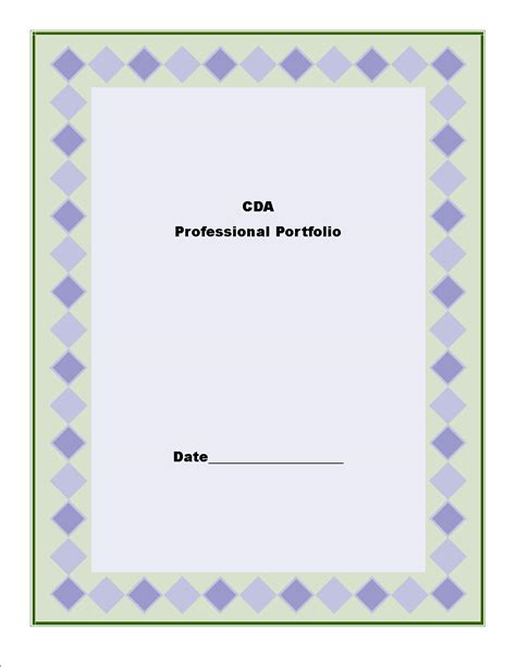 cda portfolio template best photos of cda portfolio exles cda professional
