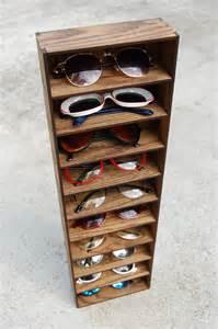10ct sunglasses organizer display rack stand box drawer