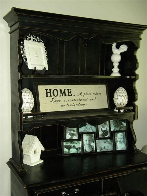 Distressed Dining Room Hutch Pin By Pickard On Home Decor Ideas