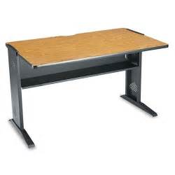 Safco Computer Desk by Safco Computer Desk With Reversible Top Office Supplies