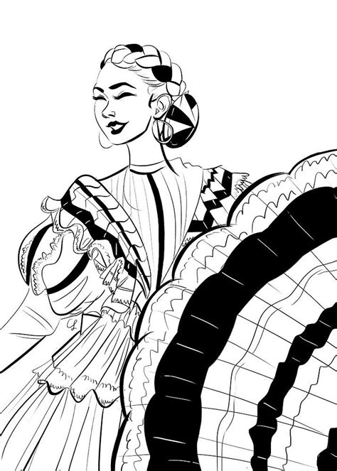 image result  drawing folklorico drawings mexico