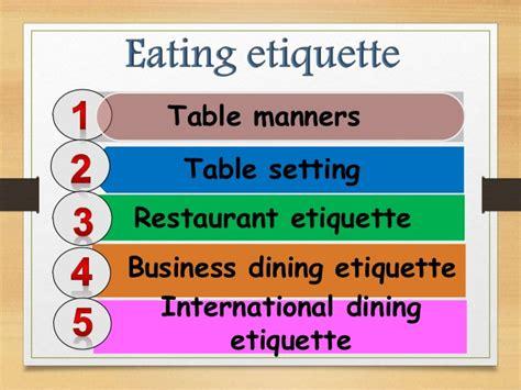 proposal business dining etiquette vietnamese eating ettique