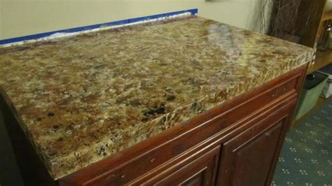Imitation Granite Countertop by Diy Faux Granite Countertops Kitchen Home