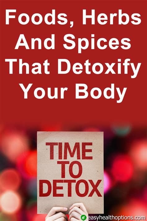 Herbs Spices Foods For Detox by Foods Herbs And Spices That Detox Your Easy Health