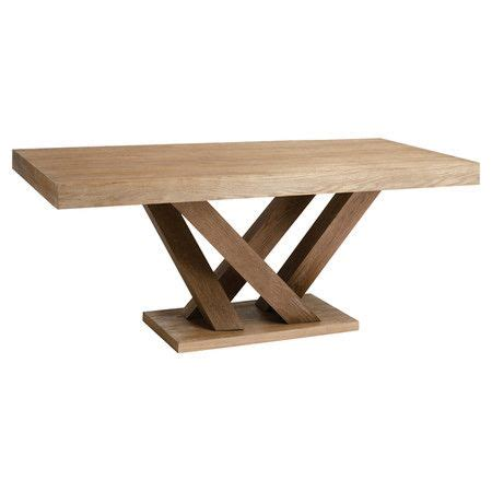 rectangular dining table with a branching base product
