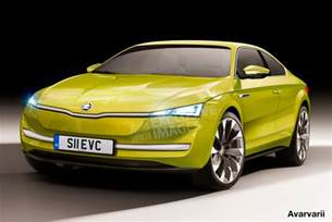 new sports cars images skoda preparing new ev sports car auto express
