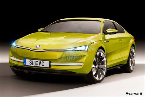 sports cars skoda preparing ev sports car auto express
