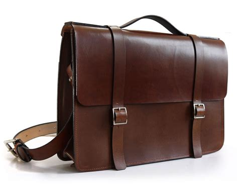 Handmade Briefcase - leather bags search leather