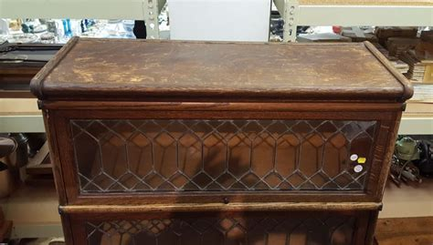 barrister bookcase leaded glass macey four stack oak and leaded glass barrister bookcase