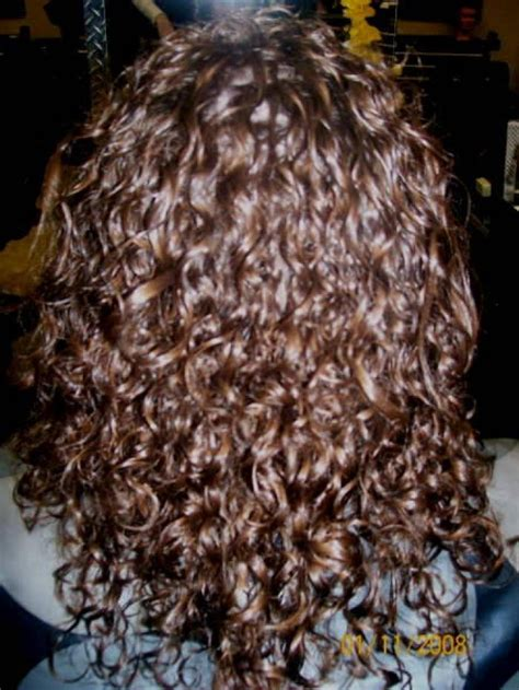 spiral perms for long hair spiral perm hairstyles and hair color and hair