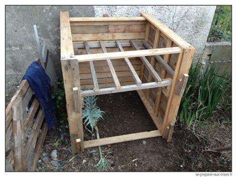 Fabrication D Un Composteur construire un composteur gratuit en bois de palette se