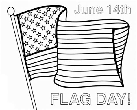 Flag Day Coloring Pages Printable 14 coloring pages of flag day print color craft