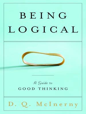 Being Logical By D Q Mcinerny 183 Overdrive Ebooks