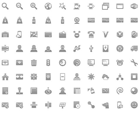 android top bar icons android gui stencils kits and templates