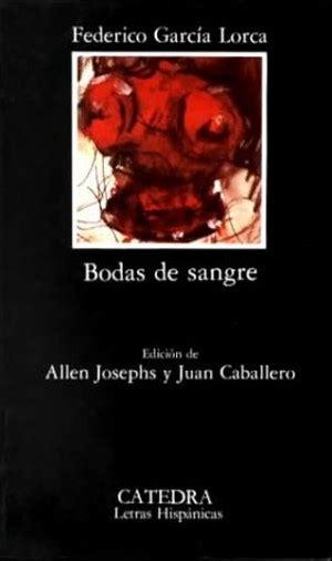 descargar libro bodas de sangre federico garcia lorca pdf libros resumen de bodas de sangre