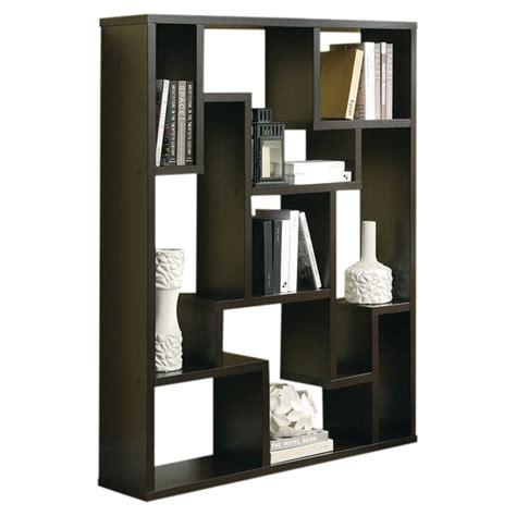 geometric bookcase reviews allmodern