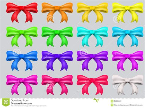 colorful bows colorful ribbon bows royalty free stock images image